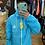 Thumbnail: Corta Vento Yourface Azul com logo Reflect
