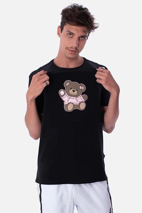 Camiseta Approve Ursinho Preta 90