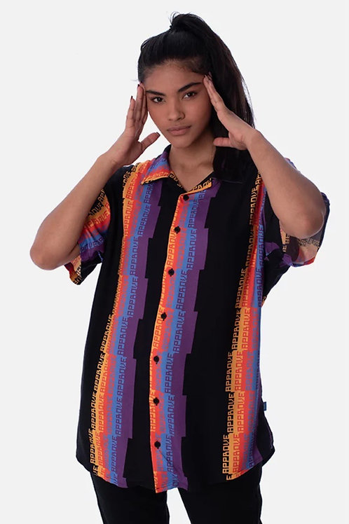 Camisa Approve Pixels&Pillis Listrada Preta 572