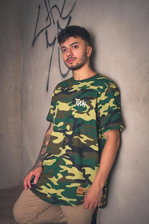 Camiseta Long Rikai Camuflada 254