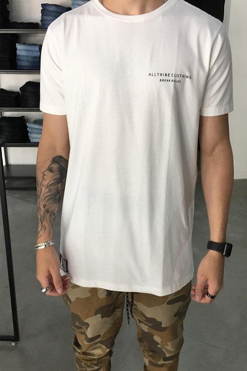 Camiseta Long All Tribe Off White 266