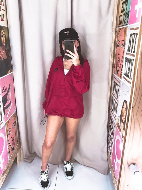 Corta Vento New Girl Vermelho 663