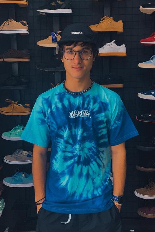 Camiseta Narina Tie Dye Azul 137
