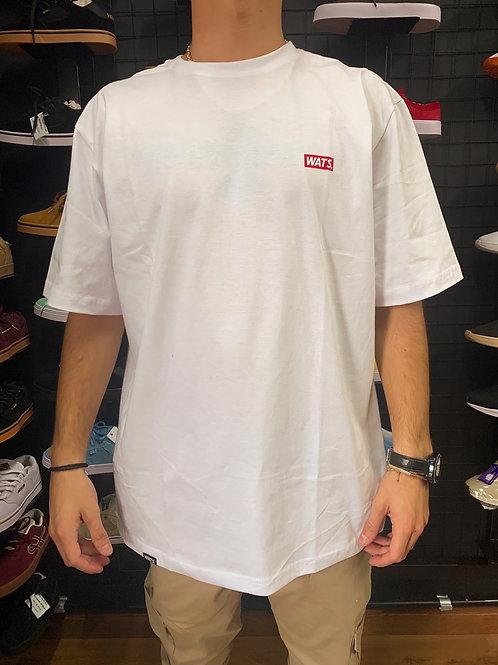 Camiseta  Básica Branca, Wats 1289