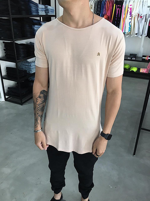 Camiseta Long All tribe Bege 260