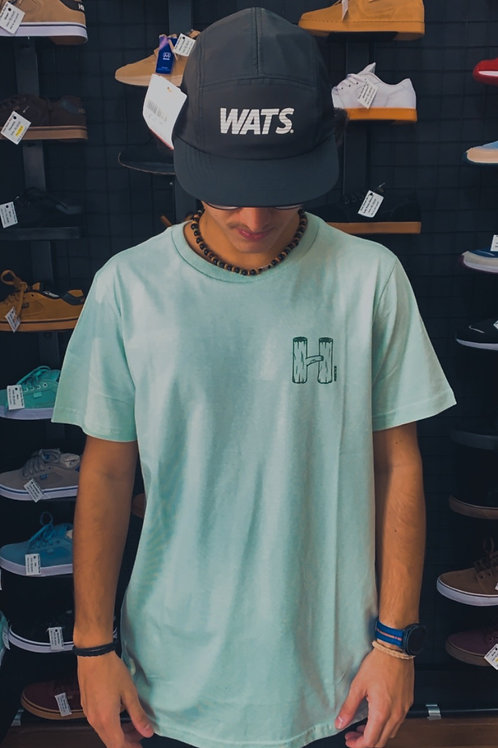 Camiseta Hocks Menta Básica 129