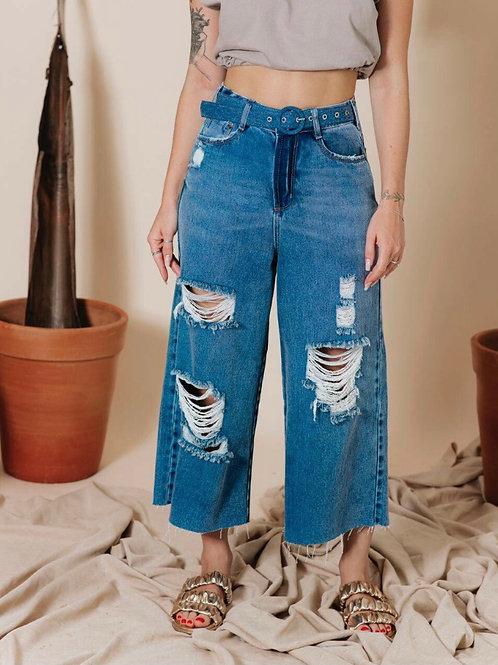 Calça Jeans Pantacurt Destroyed Cinto 1680