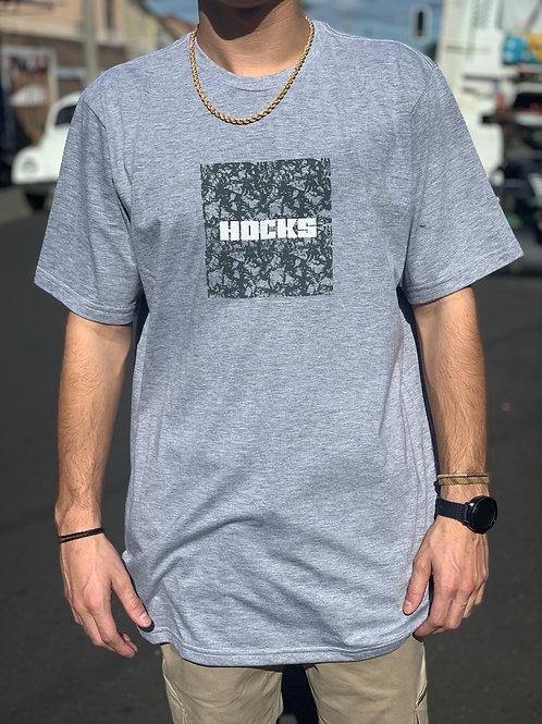 Camisetas  Cinza Logo, Hocks 1082