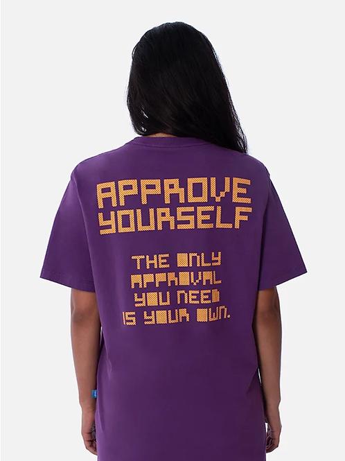 camiseta approve roxa pixel 50