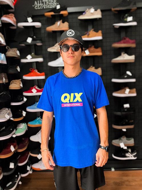 Camiseta Qix Azul 11