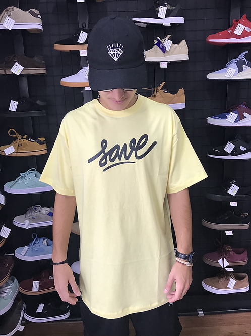 Camiseta Save Amarela 109