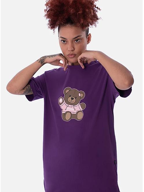 camiseta roxa urso 43