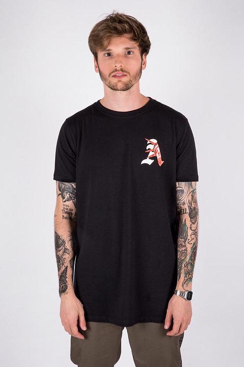 Camiseta Long Libert Preta 196