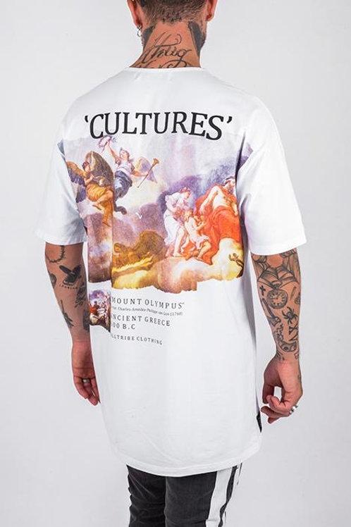 Camiseta Long Cultures White 240