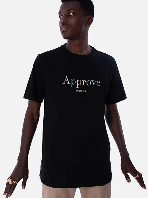 Camiseta Preta Basic, Approve 165