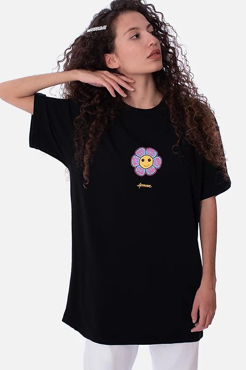 Camiseta Preta Psycodelico, Approve 167