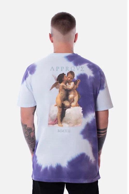 Camiseta Tie Dye Roxa Cupidos Approve 91