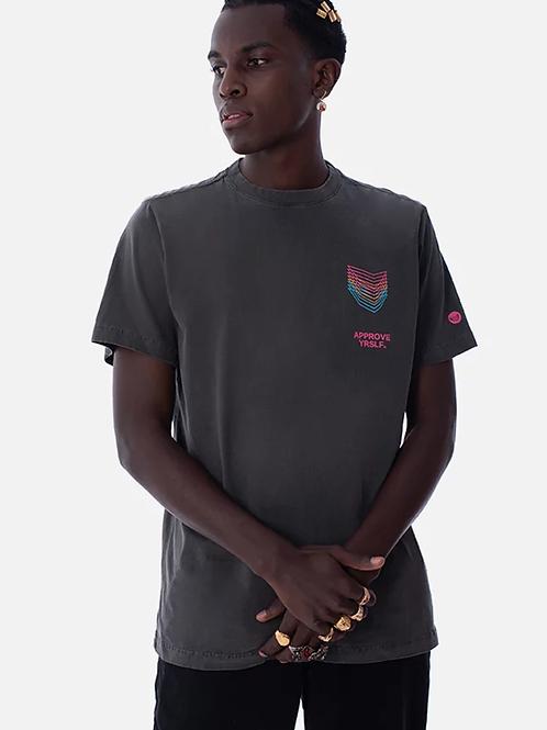 Camiseta Chumbo Vintage, Approve 399