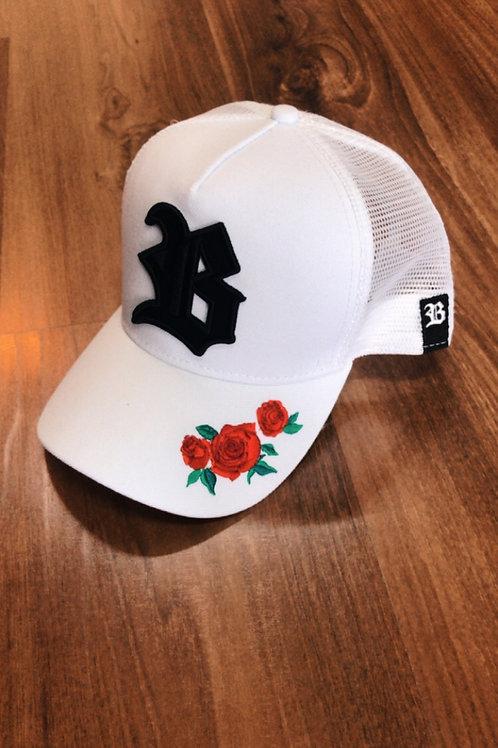 Boné Roses White Trucker 445