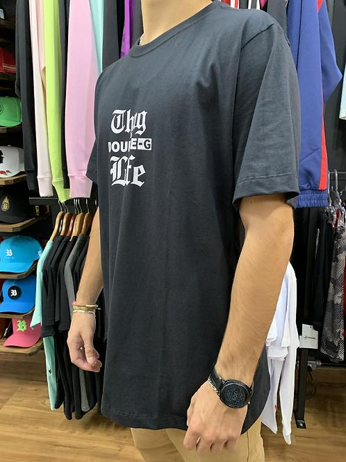 Camiseta Preta vida loca, Double-G 796