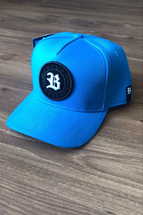 Boné Blck azul aba curva 457