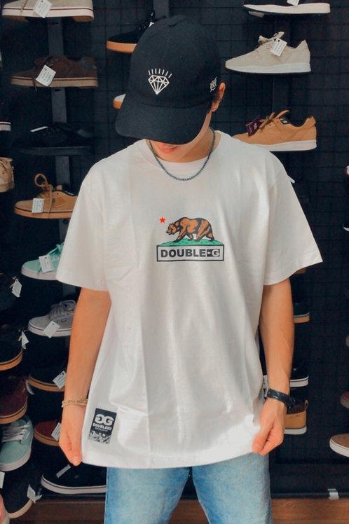 Camiseta Branca Double-G Califórnia 63
