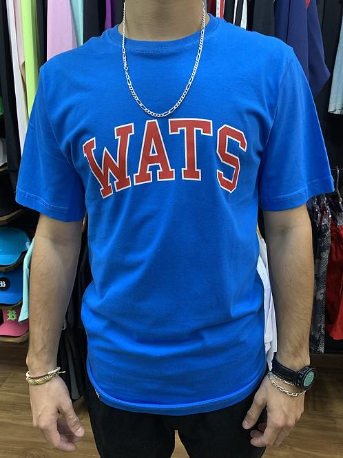 Camiseta  Basica Azul, Wats 795
