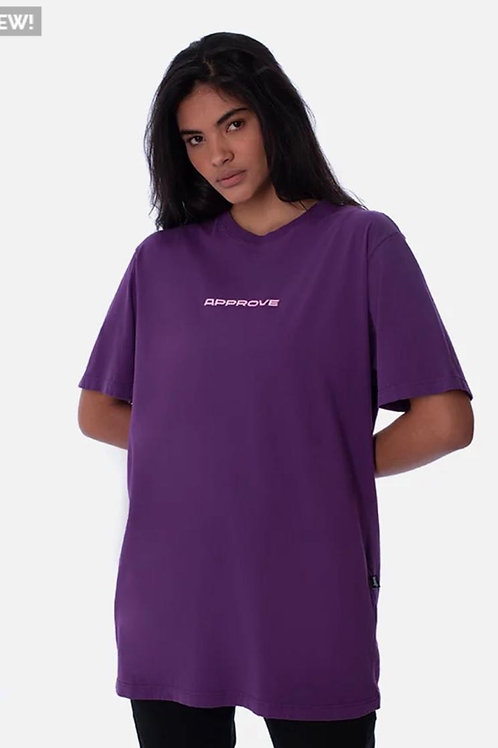 Camiseta Approve Roxa Robotik 80