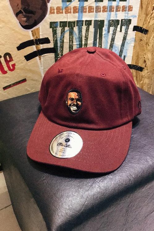 Boné Dad Hat Drake Bordo 505