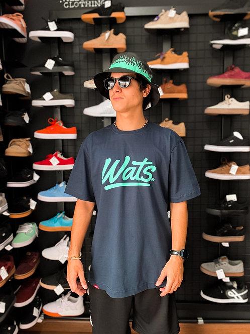 Camiseta Wats Azul 8