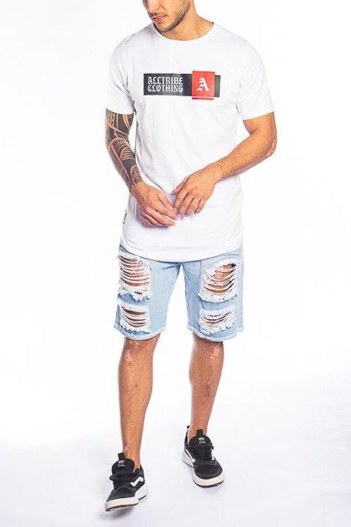 Camiseta Long alltribe branca 62