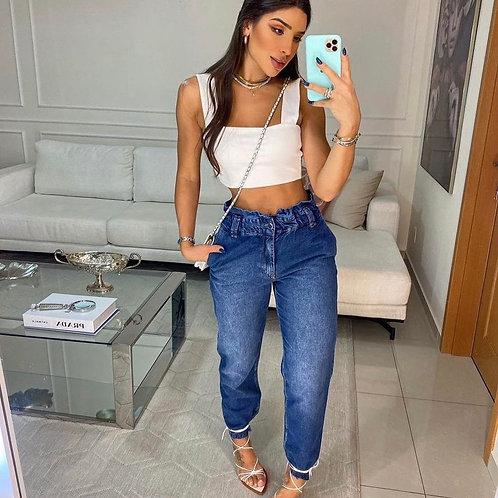 Calça Jeans Baggy Clochard Gabi