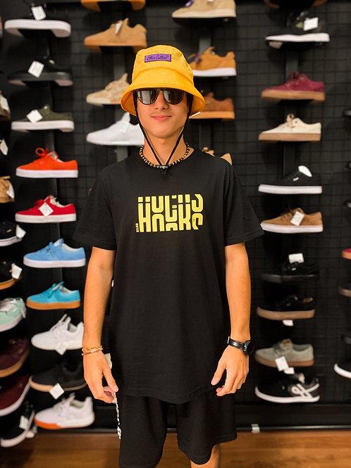 Camiseta Hocks Preta/Amarelo 36
