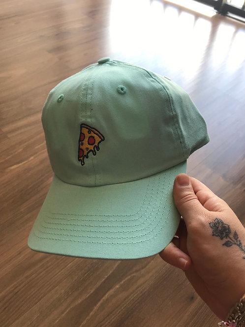 Boné Dad Hat Pizza Azul Claro 501