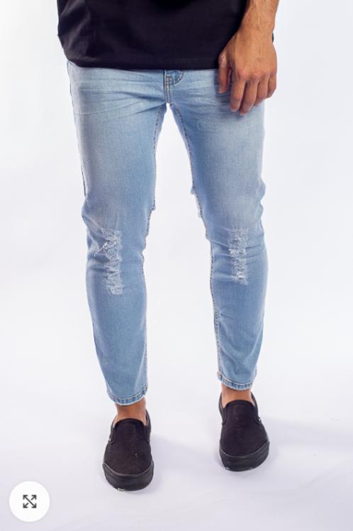 Calça Jeans clara Alltribe 560