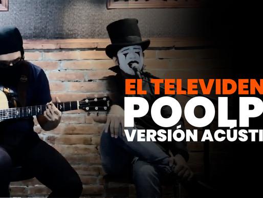 """POOLPO: versión acústica en vivo de """"El Televidente""""."""