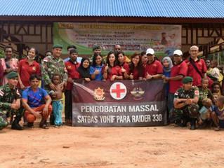 PT PAPUA AGRO LESTARI Provides Free Medical Treatment in the Border Region