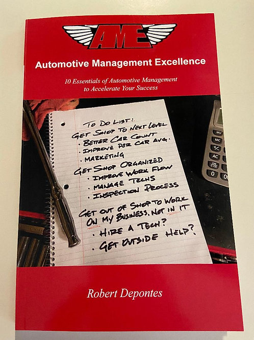 AME 10 Essentials of Automotive Management to Accelerate Your Success Book