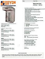 SRO1E Spec Sheet