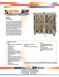 Doyon JA28 Spec Sheet