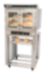 Doyon JA4 convection oven on stand