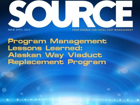 ATENCIÓN: La revista Source de AACE International ahora se publica para lectura / visualización