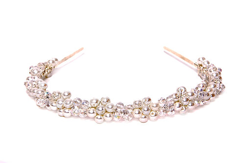 Pearl and Crystal Hairband