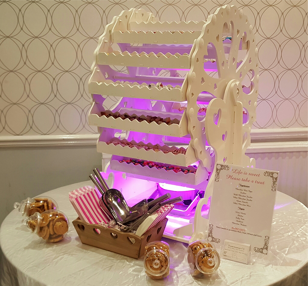candy ferris wheel hire