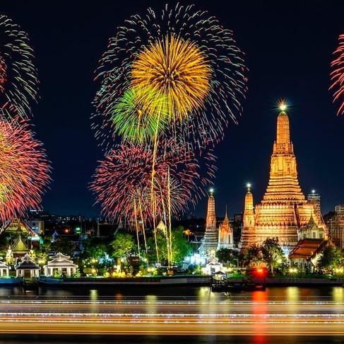 Новий рік в Таїланді.  Том Ям замість олів'є