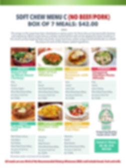 Home Deliverd Meals SOFT CHEW Catalog C.