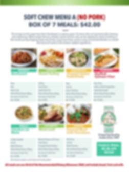 Home Deliverd Meals SOFT CHEW Catalog A.