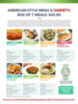 Home Deliverd Meals AMERICAN Catalog A.j