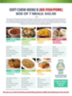 Home Deliverd Meals SOFT CHEW Catalog B.