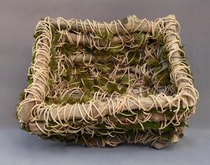 Driftwood Basket and Moss #1